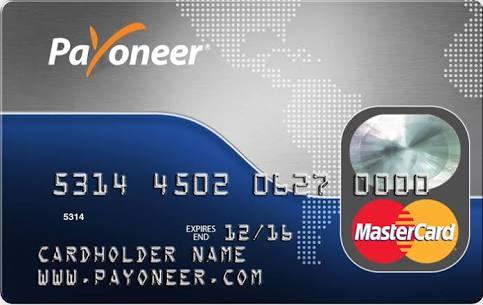 Cara Mendaftar Payoneer Prepaid Card