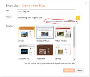 cara membuat blog 2