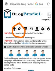 tutorial blogponsel.net cara membuat posting dan kategori