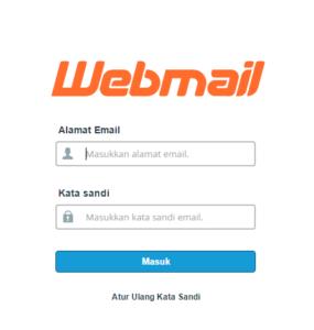 cara login webmail cpanel hosting