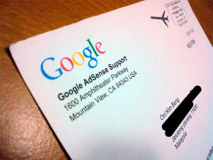 contoh sura pin google adsense
