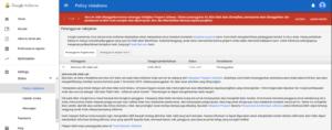 Cara Mengatasi Akun Google Adsense Ditangguhkan Sementara 2