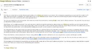 Cara Mengatasi Akun Google Adsense Ditangguhkan Sementara
