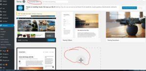 cara mengganti dan install tema di wordpress self hosted 1