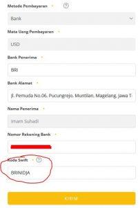 cara setting pembayaran uc news we media lewat bank dengan mudah 2