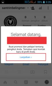 cara mengganti profil bisnis di instagram 10