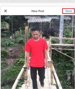 cara upload gambar instagram lewat pc dengan menggunakan web browser 3