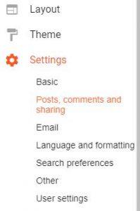 cara membuat auto share artikel ke google plus di blogspot