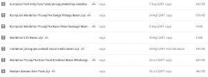 cara membagikan url file yang disimpan di google drive