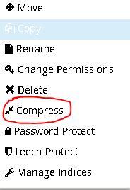Cara Mengunduh Semua File Di WordPress Lewat Cpanel 4
