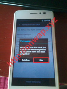 Cara Downgrade Dan Unlock Dual Gsm Andromax A Versi Dewi V5.6 Dan V4.3 5