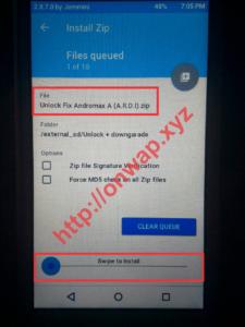 Cara Install Patch Unlock Dual Gsm Andromax A Versi Dewi V5.6 Dan V4.3 3-min