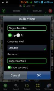 Cara Membuat File Zip Di Android Menggunakan Aplikasi ES File Explorer 2