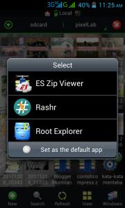 Cara Ekstrak File Zip Di Android Menggunakan Aplikasi Es File Explorer 1