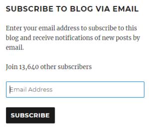 Cara Subscribe Artikel Di Blog Blogger Muntilan