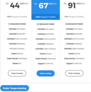 cara beli domain dan hosting bayar lewat indomaret terbaru 3