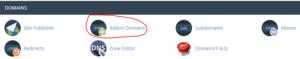 cara setting addon domain lewat cpanel hosting 1