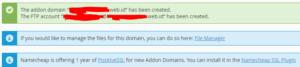 cara setting addon domain lewat cpanel hosting 5