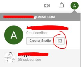 Cara Mengganti Nama Channel Youtube