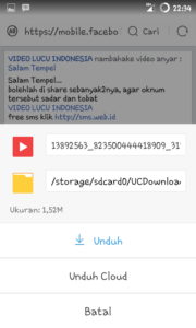 Download Video Di Facebook Android 1