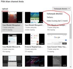 cara mengaktifkan kontent unggulan di youtube creator studio 2