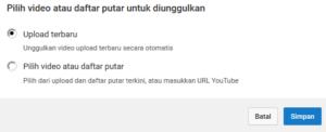 cara mengaktifkan kontent unggulan di youtube creator studio 4