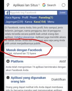 cara menghilangkan spam di facebook android 2