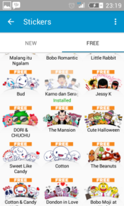 Kumpulan Sticker Gratis BBM Android 2017 Terbaru 1