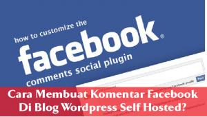 Cara Membuat Komentar Facebook Di Blog WordPress Self Hosted 4