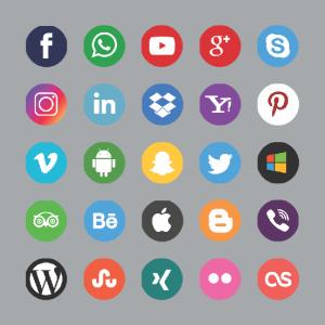 mentahan picsay pro keren social media icon pack