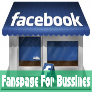 fanspage facebook for bussiness