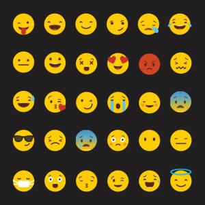 mentahan icon pack emoji whatsapp