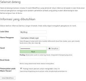 Cara Install WordPress Offline Di Localhost 11