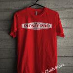 Kaos Picsay Pro Indonesia Merah