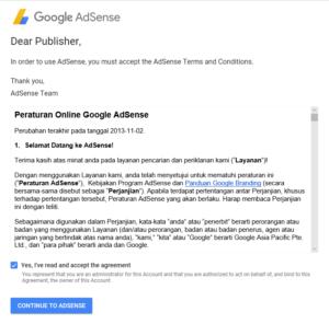 Cara Daftar Google Adsense Non Hosted Terbaru 2018 1