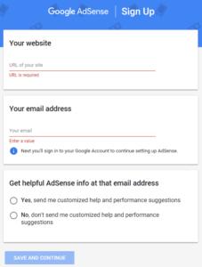 Cara Daftar Google Adsense Non Hosted Terbaru 2018