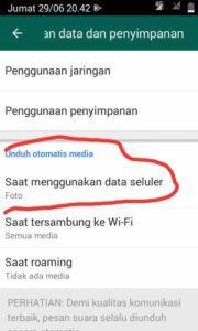 Cara Setting Gambar Whatsapp Tidak Tesimpan Otomatis 2