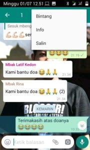 Cara Cek Orang Yang Sudah Membaca Kiriman Di Grub Whatsapp 2
