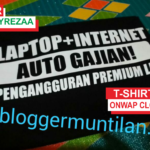 Kaos Laptop Internet Auto Gajian Pengangguran Premium Life 4