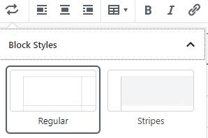 Cara Membuat Table Di Postingan Menggunakan Gutenberg WordPress 3