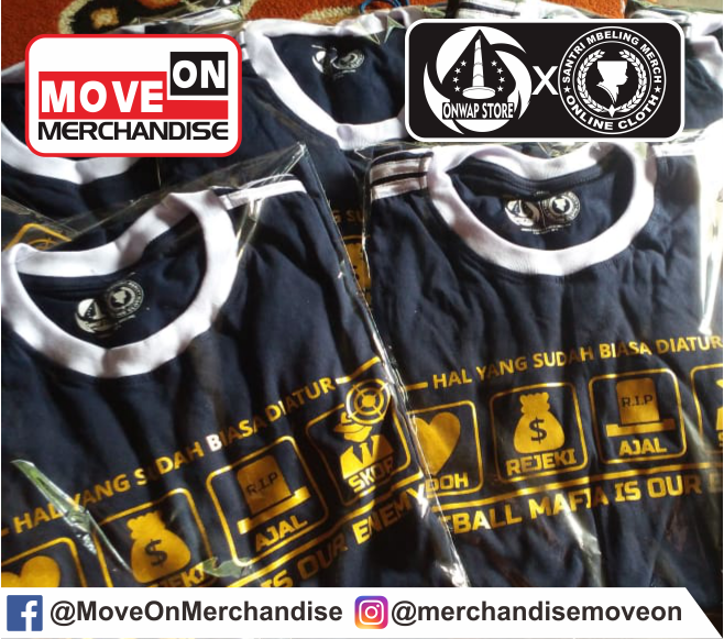 KAOS FOOTBALL MAFIA IS OUR ENEMY BY MOVE ON MERCHANDISE 2
