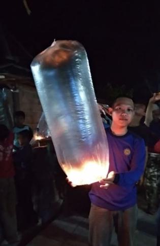 Tempat Jual Lampion Terbang Plastik Murah Magelang Temanggung Jogja