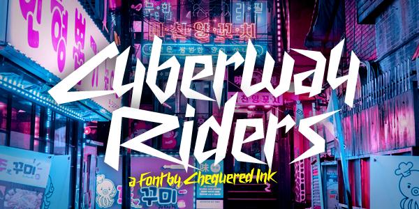 Kumpulan 5 Font Keren Terbaik Terbaru 2020 Part 1 Cyberway Riders