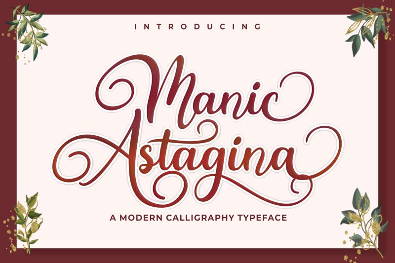 Kumpulan 5 Font Keren Terbaik Terbaru 2020 Part 2 Manic Astagina