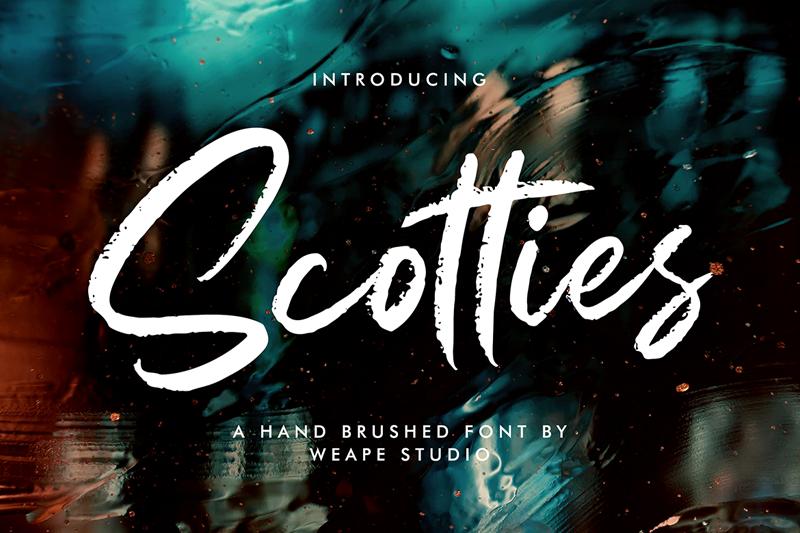 Kumpulan 5 Font Keren Terbaik Terbaru 2020 Part 2 Scotties