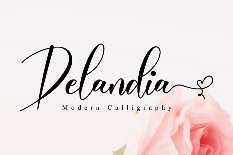 Kumpulan 5 Font Keren Terbaik Terbaru 2020 Part 2 Delandia