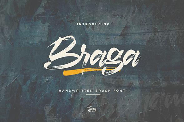 Kumpulan 5 Font Keren Terbaik Terbaru 2020 Part 3 Braga