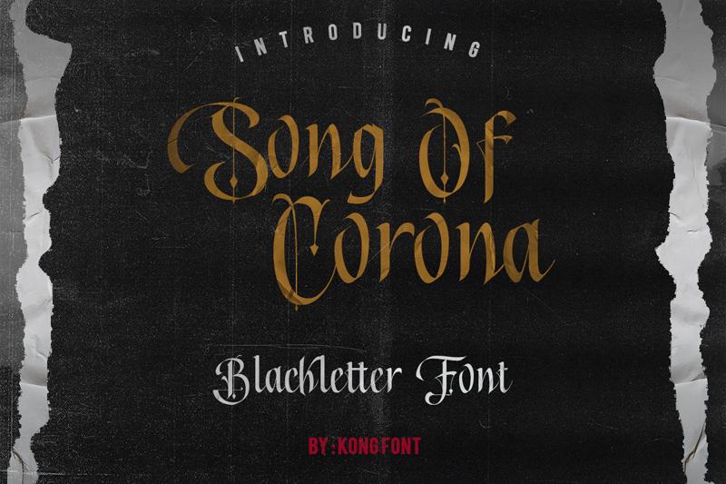 Kumpulan 5 Font Keren Terbaik Terbaru 2020 Part 1 Song Of Corona