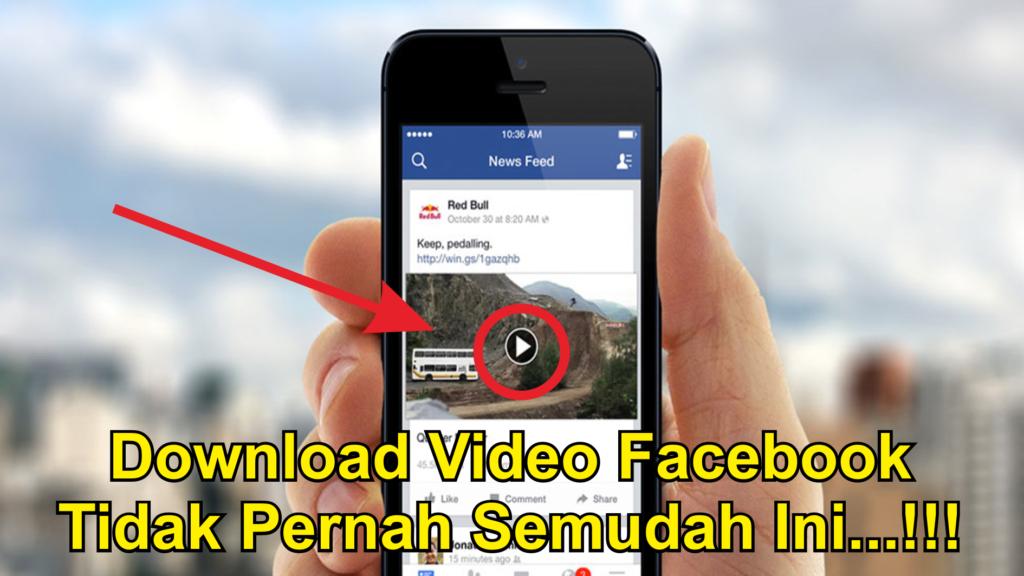 Cara Download Video Facebook Di Android Terbaru Dengan Mudah
