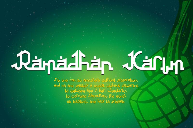Download Kumpulan 7 Font Mirip Huruf Arab Keren Terbaik Terbaru 7